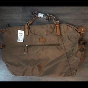 Roots 73 R4700M Brown Tote Bag